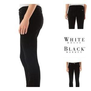 White House Black Market Corduroy Black Pants